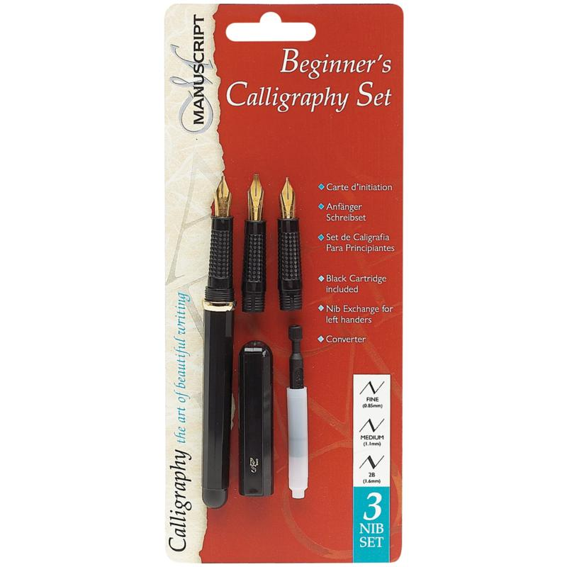 Manuscript Pen Beginner's Calligraphy Set