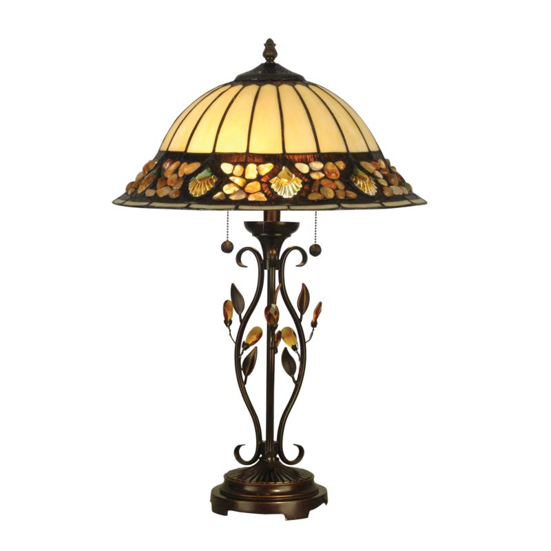 Dale Tiffany Pebblestone Table Lamp