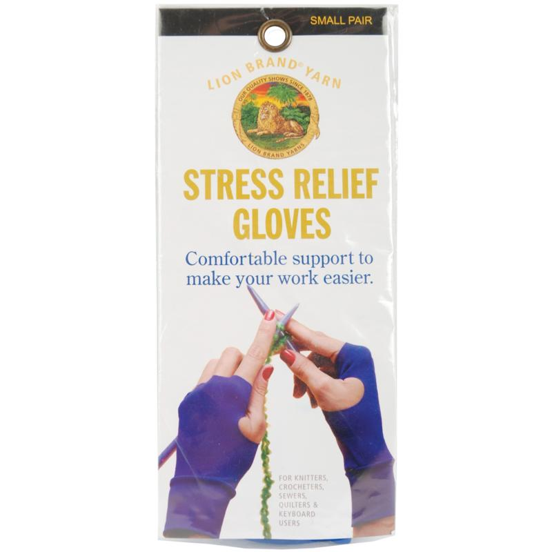 Lion Brand Stress Relief Gloves - Small