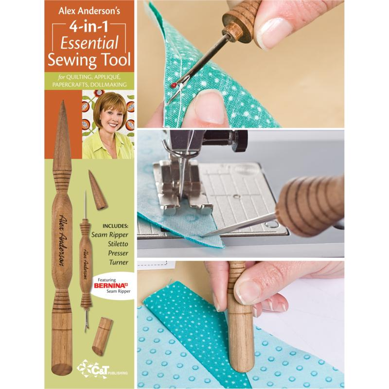 CandT PUBLISHING 4-in-1 Essential Sewing Tool