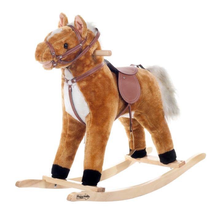 Trademark Global, Inc. Plush Rocking Horse with Sound