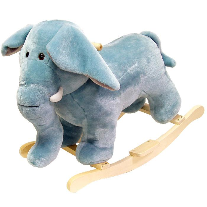 Happy Trails Happy Trails Elephant Plush Rocking Animal