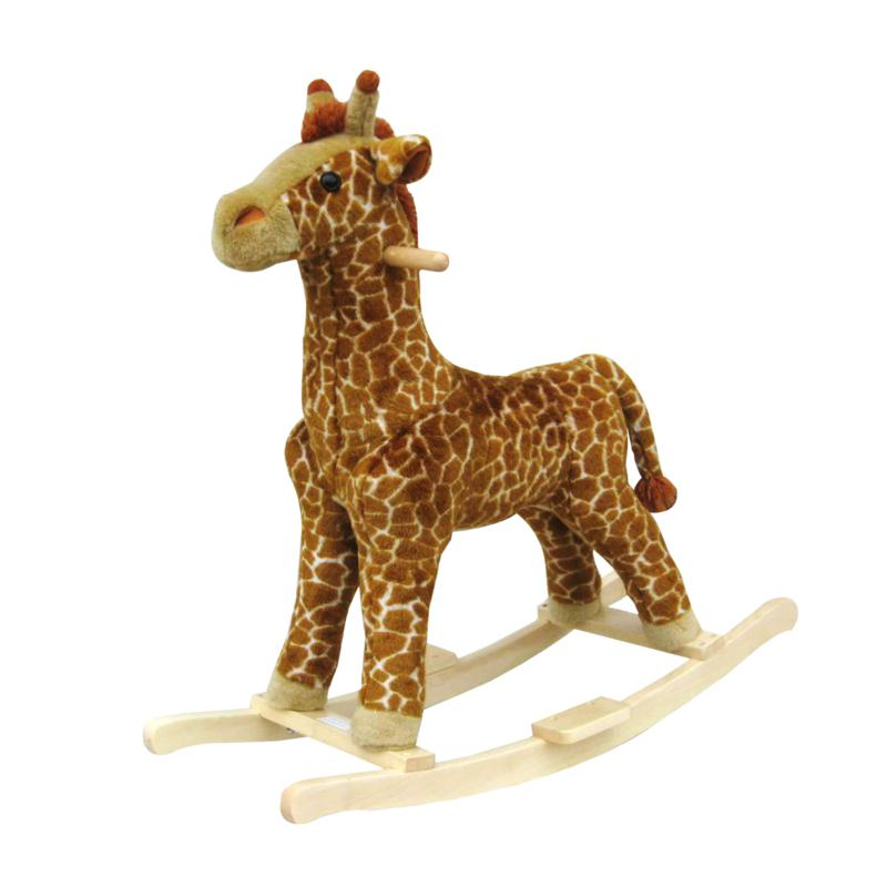 Trademark Global, Inc. Plush Rocking Animal - Giraffe