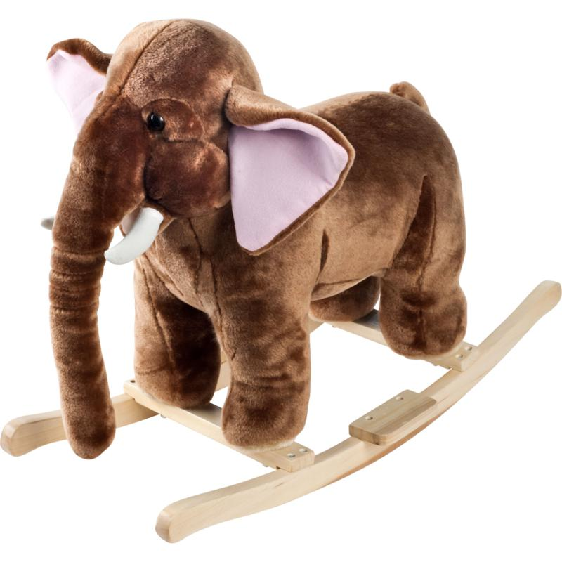 Trademark Global, Inc. Plush Rocking Mo Mammoth with Sounds