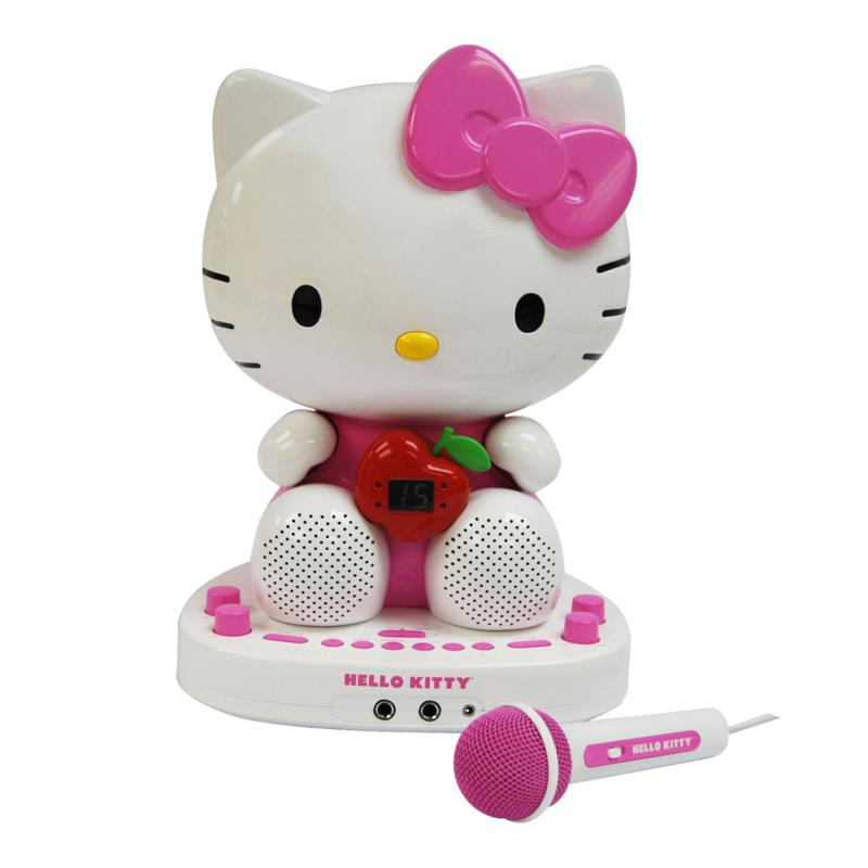 Hello Kitty Hello Kitty CD+G Karaoke Player with Built-in Video Camera
