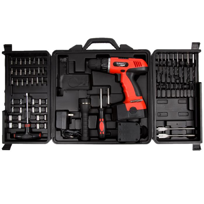 Trademark Global, Inc. 78-piece 18-Volt Cordless Drill Set