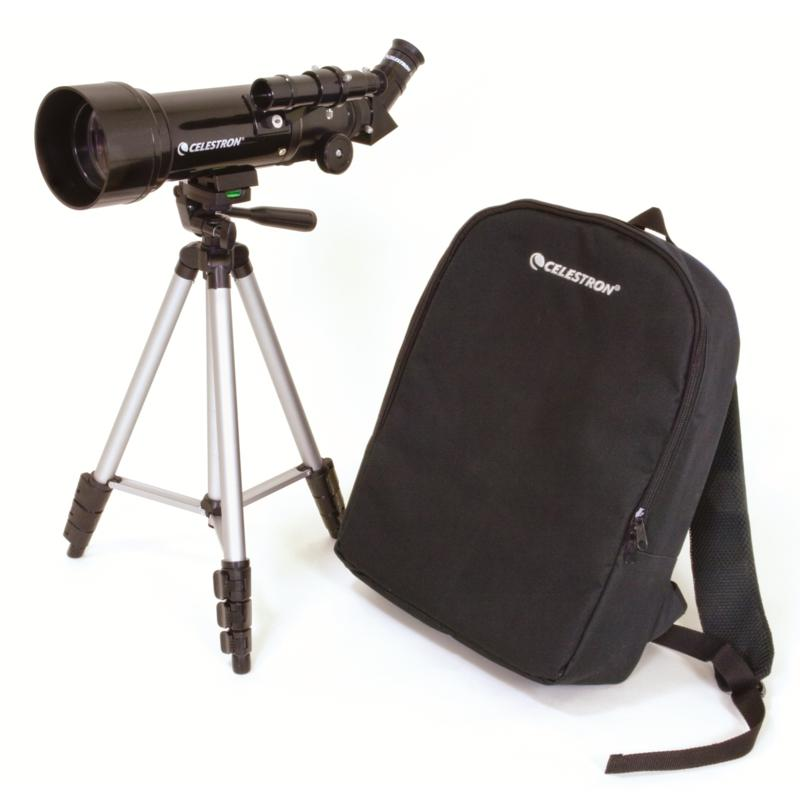 Celestron Celestron Travel Scope 70 400mm x 70mm Refractor Telescope with Travel Backpack