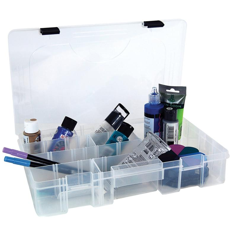 Crafter's Companion Pro-Latch Deep Utility Box - Clear