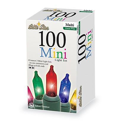 100 Multicolor Mini Lights