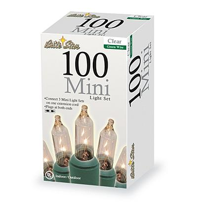 100-count Clear Mini Lights