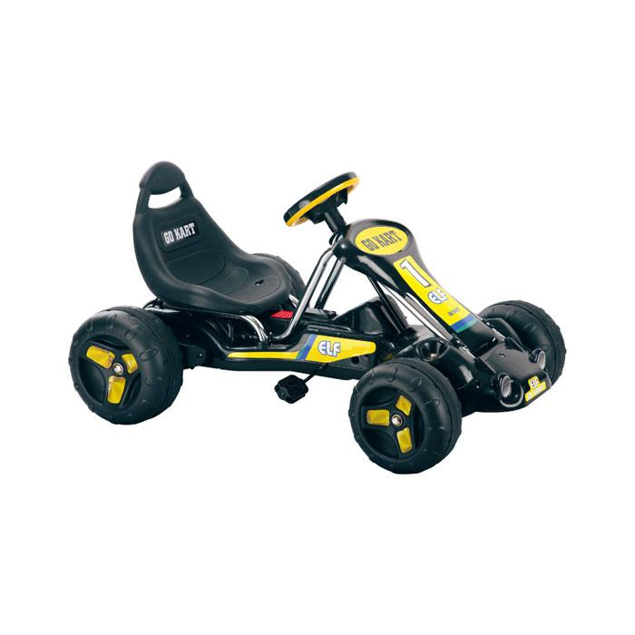 Trademark Global, Inc. Lil' Rider Black Stealth Pedal-Powered Go-Kart