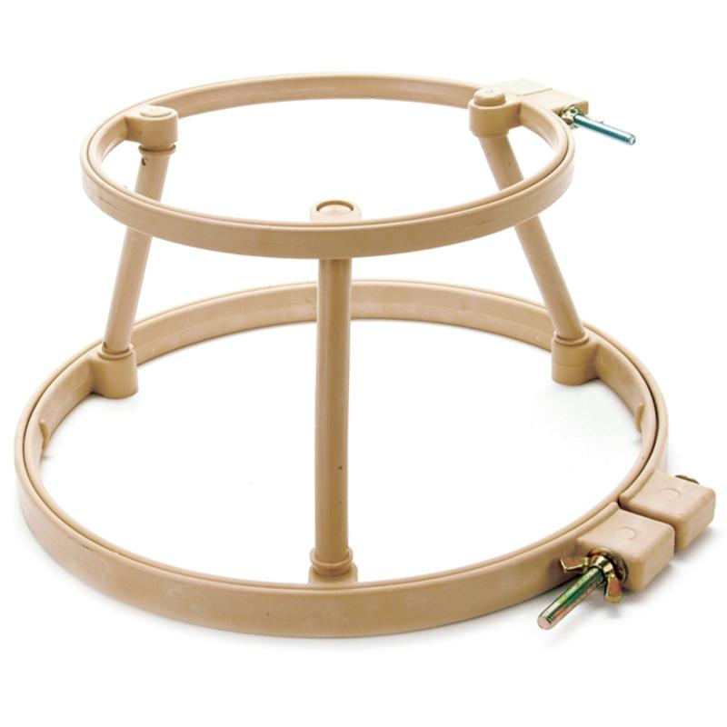 MORGAN PRODUCTS Lap Stand Combo - Size 10 And 14 Hoops