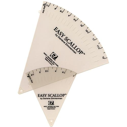 Easy Scallop Quilting-Ruler Set