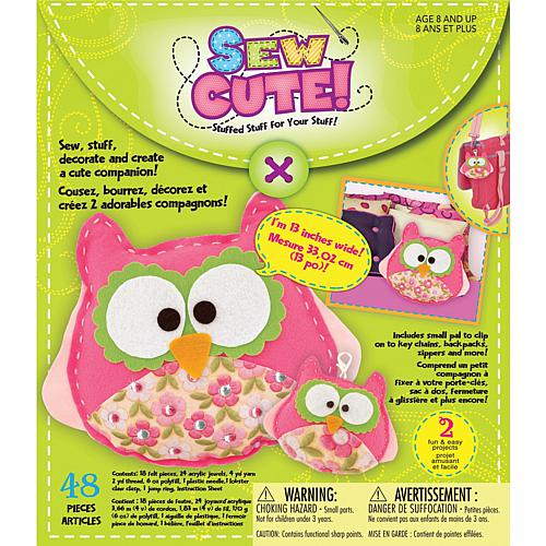 Craft Box Kit - 2 Owls