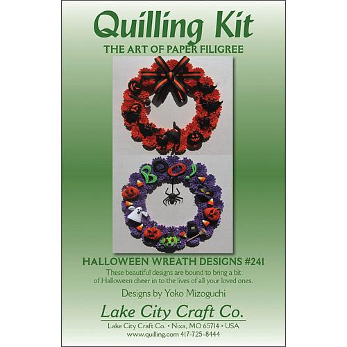 Quilling Kit - Halloween Wreaths
