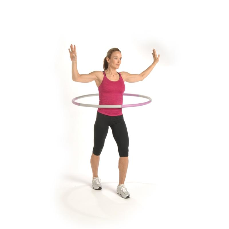 Stamina Stamina 2.5-lb. Fitness Hoop with Workout DVD