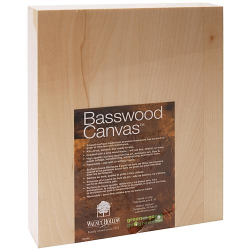 Basswood Canvas - 8
