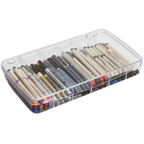 ArtBin Prism 6-Compartment Box - Transparent