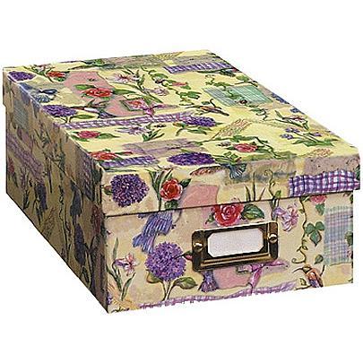 Pioneer Photo/Video Storage Box - Assorted Designs