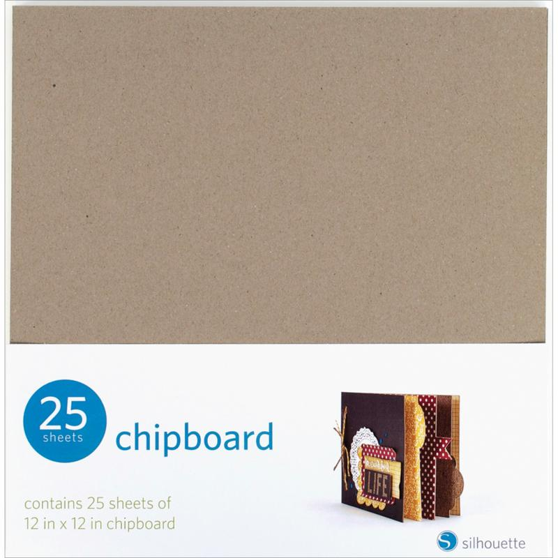 Silhouette Silhouette Chipboard 25-pack