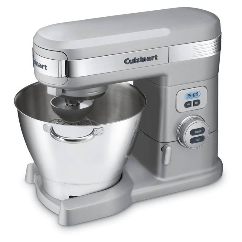 Cuisinart Cuisinart 5.5-Quart Stand Mixer - Brushed Chrome