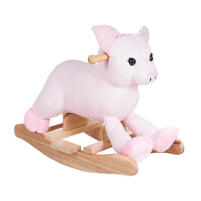 Happy Trails Happy Trails Plush Rocking Hamlet Pig