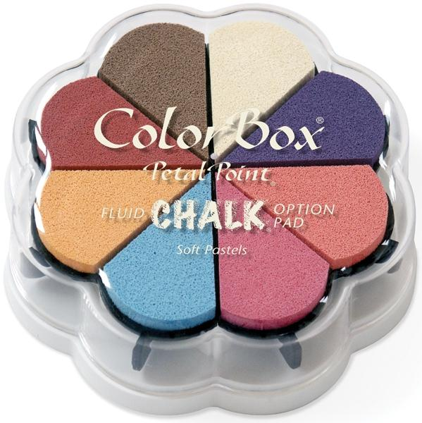 CLEARSNAP Fluid Chalk Petal Point Ink Pads - Soft Pastels