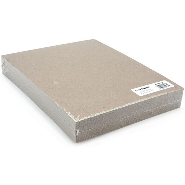 GRAFIX Medium Weight Chipboard Sheets 8.5X11 25/Pkg - Natural