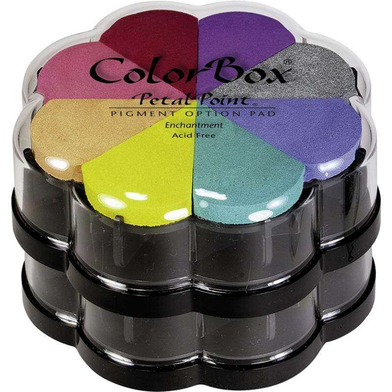CLEARSNAP Petal Point Pigment Option Pad 8/Color - Enchantment