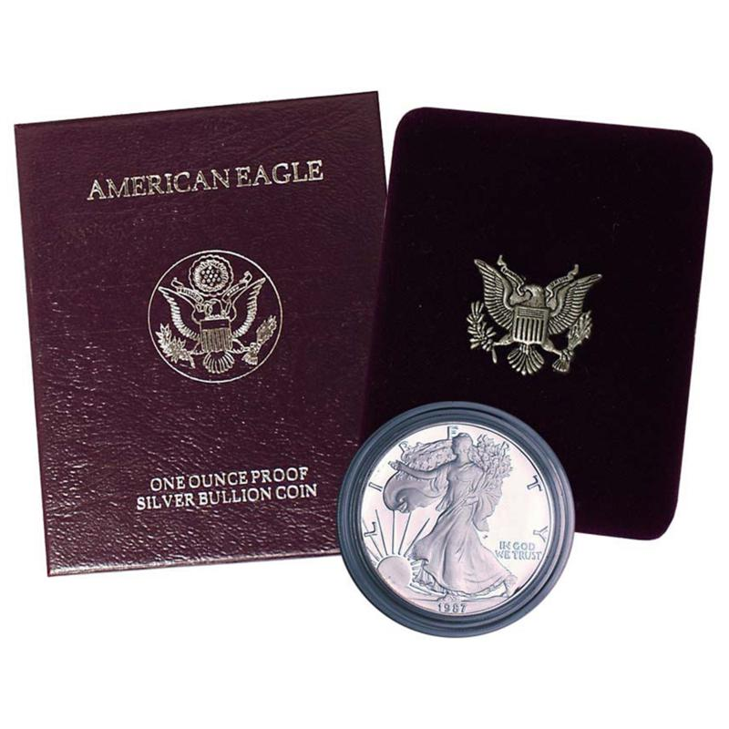 Coin Collector 1987 Proof Silver Eagle Dollar