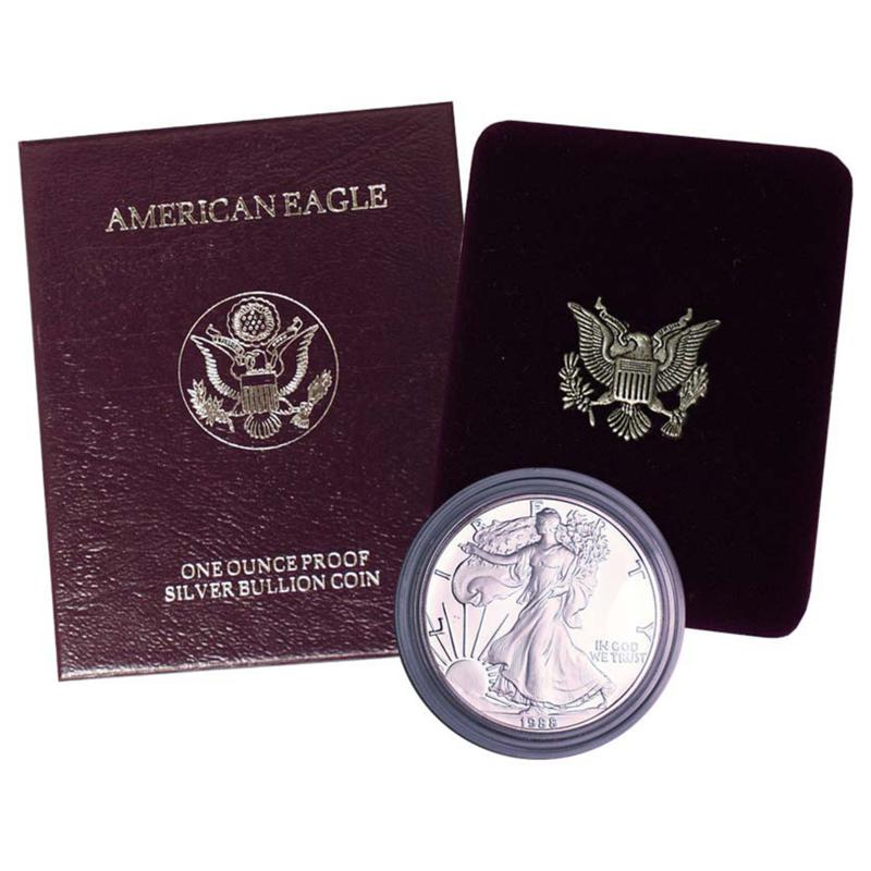 Coin Collector 1988 Proof Silver Eagle Dollar