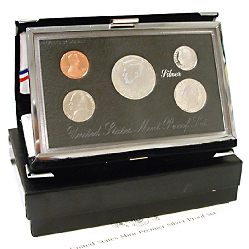 HSN 1998 Silver Premier United States Proof Set