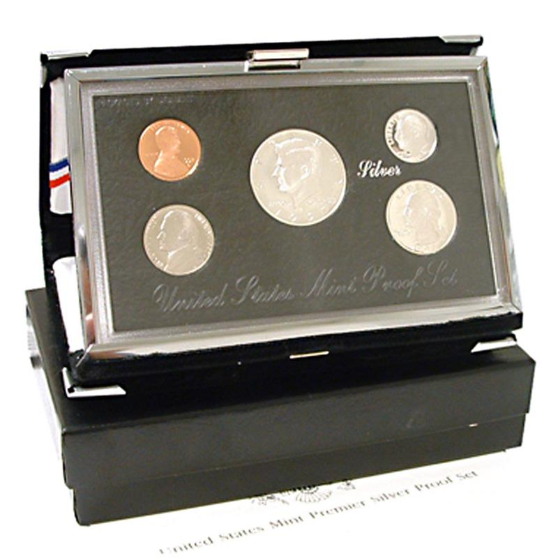 HSN 1996 Silver Premier United States Proof Set
