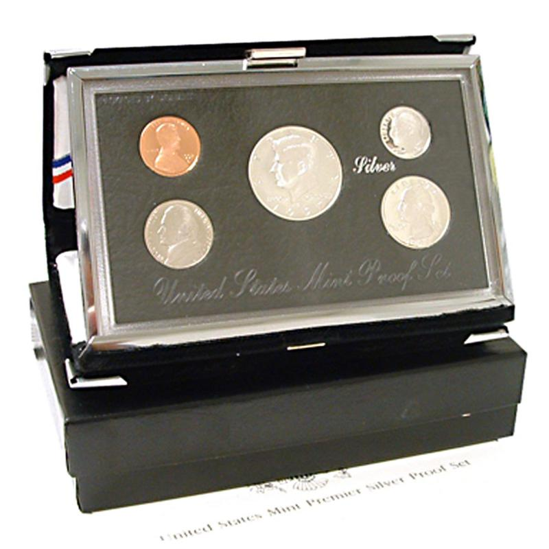 HSN 1997 Silver Premier United States Proof Set