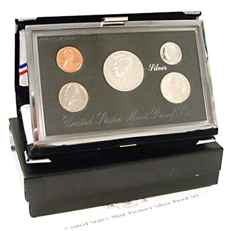 HSN 1994 Silver Premier United States Proof Set