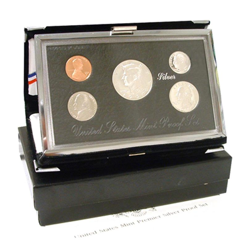 HSN 1993 Silver Premier United States Proof Set