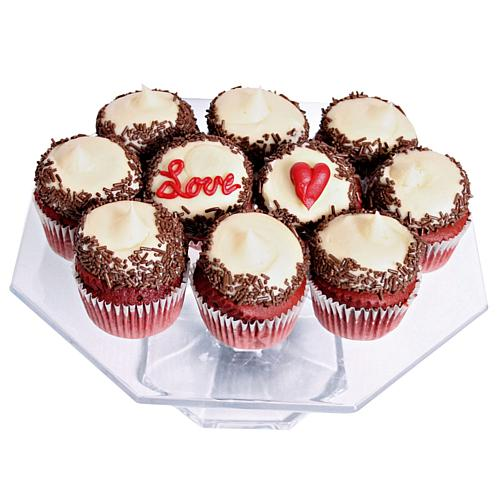 12-count Gourmet Love Cupcakes