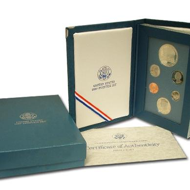 HSN 1987 Prestige Proof Set