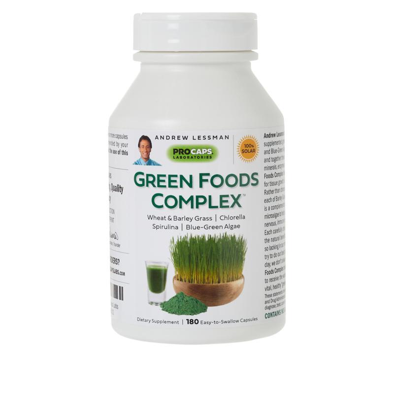 Andrew Lessman Green Foods Complex - 180 Capsules