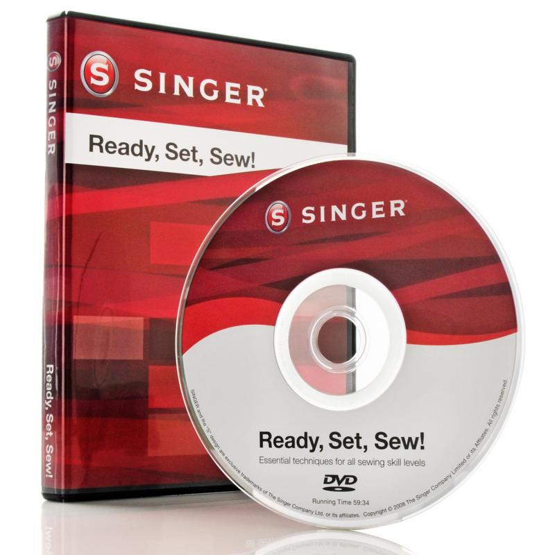Singer Ready, Set, Sew! Instructional DVD