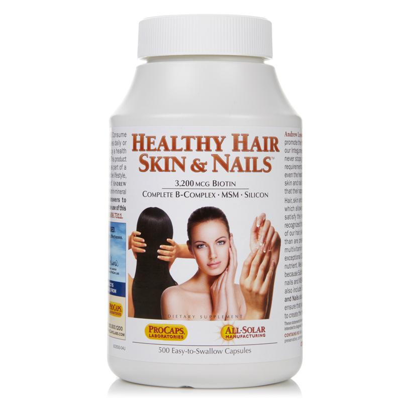 Andrew Lessman Healthy Hair, Skin & Nails - 500 Capsules