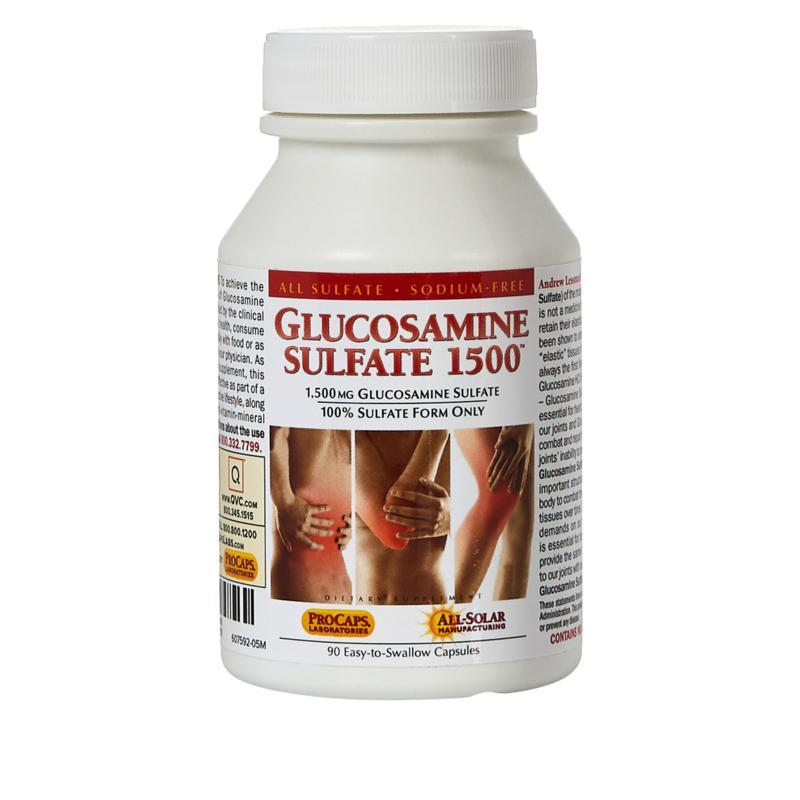 Andrew Lessman Glucosamine Sulfate-1500 - 90 Capsules
