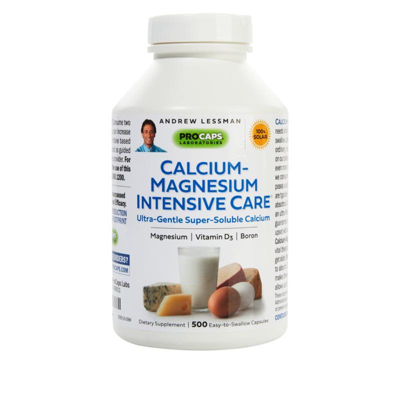 Andrew Lessman Calcium-Magnesium Intensive Care - 500 Capsules
