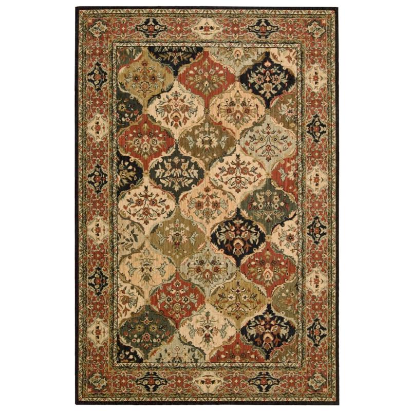 Andrea Stark Home Collection Home Collection Baktiari 100% Wool Rug - 5'3 x 8'
