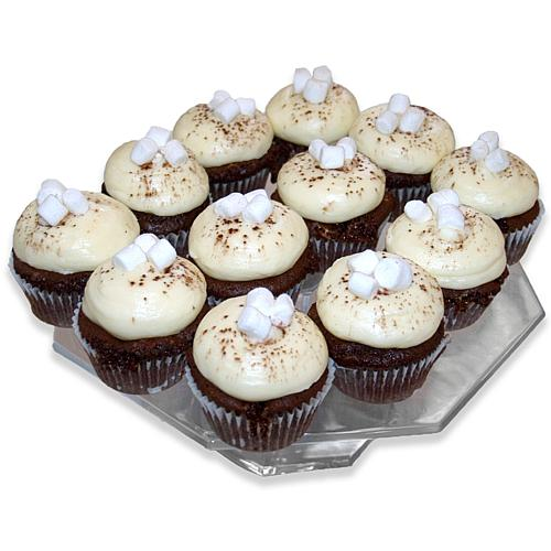 12-Count Hot Cocoa Cupcakes