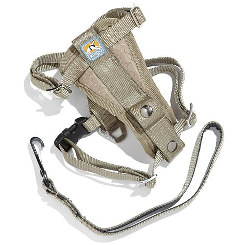 Tru-Fit Medium Smart Harness with Seatbelt Loop - Khaki
