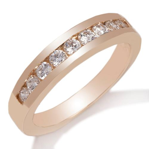 .32ct Absolute™ Round Channel-Set 9-Stone Ring