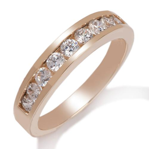 .78ct Absolute™ Round Channel-Set 9-Stone Ring