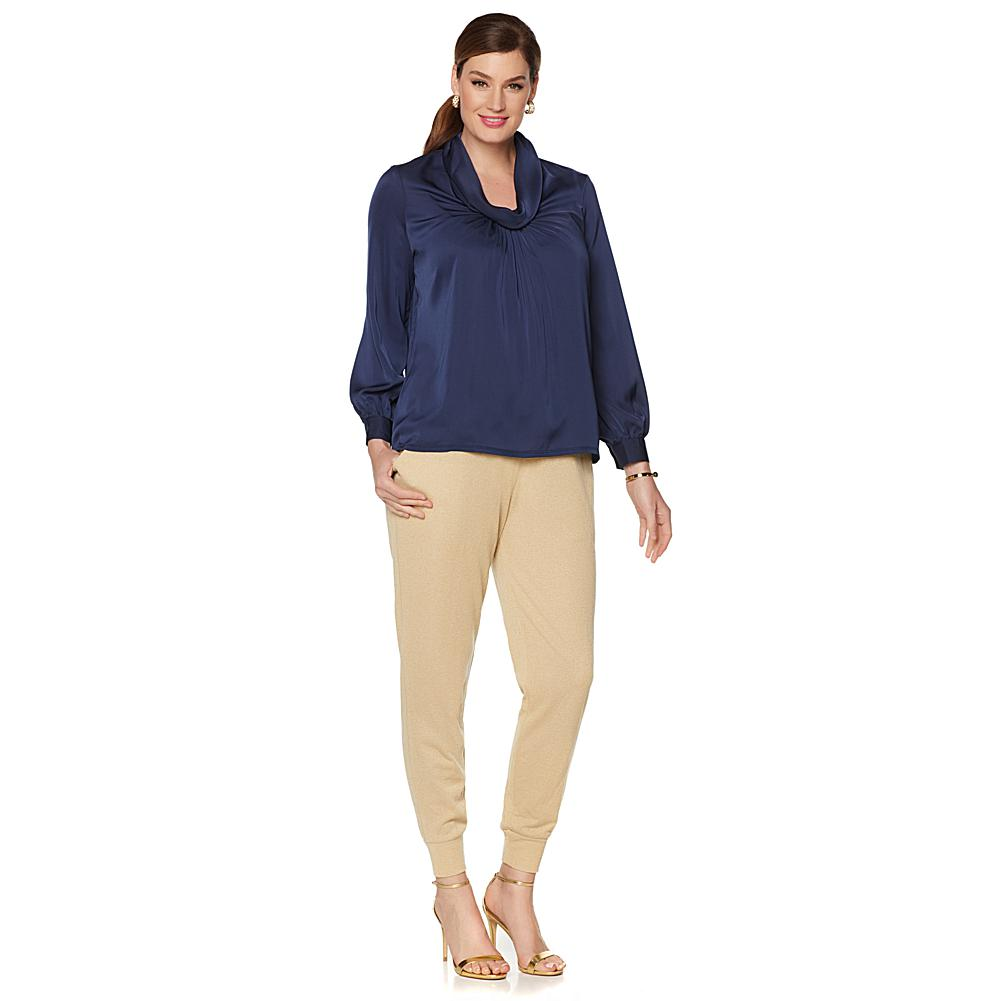 Wendy Williams Cowl Neck Poet Blouse