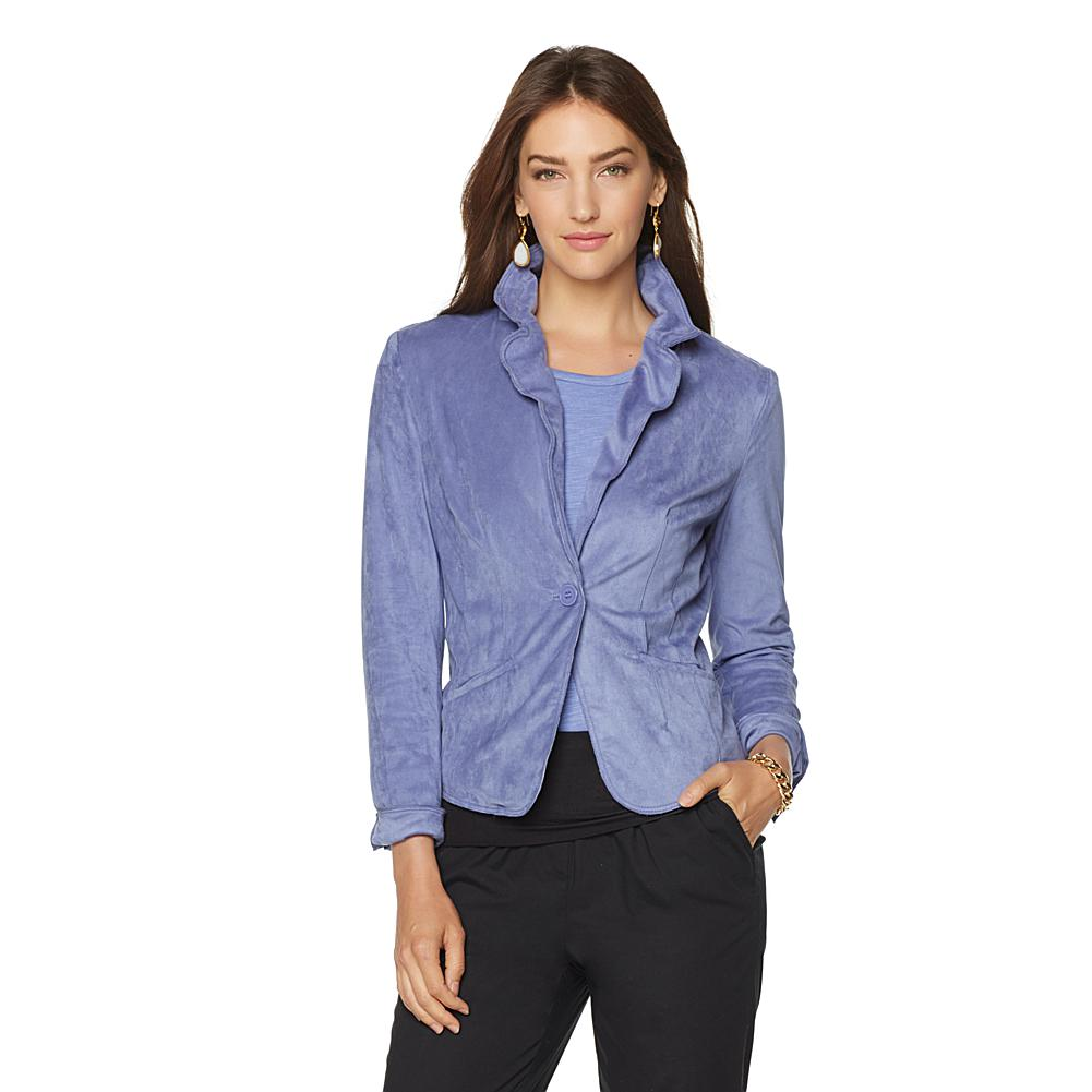Wendy Williams Faux Suede Blazer